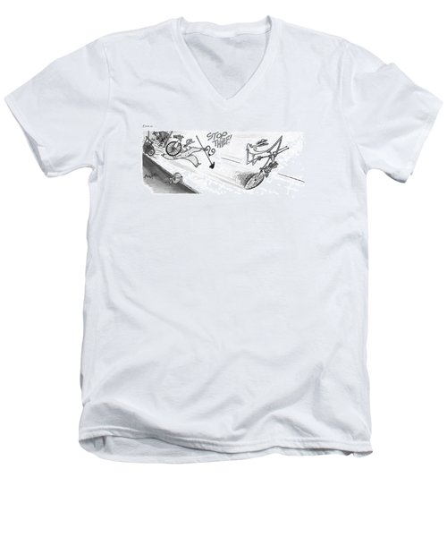 Even So Men's V-Neck T-Shirt