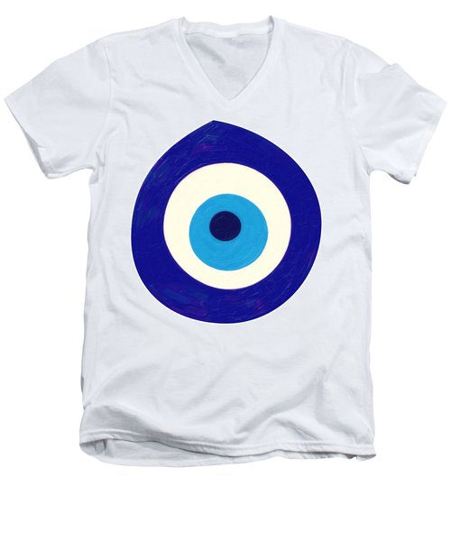 Evil Eye Men's V-Neck T-Shirt