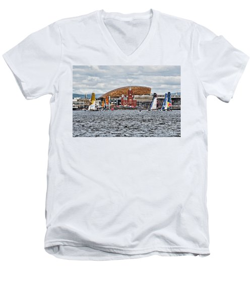 Extreme 40 At Cardiff Bay Men's V-Neck T-Shirt