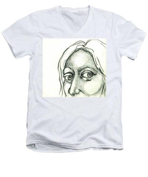 Eyes - The Sketchbook Series Men's V-Neck T-Shirt