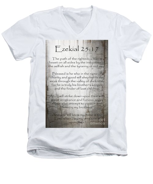 Ezekial 25 17 Men's V-Neck T-Shirt