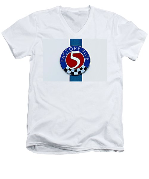 Factory Five Men's V-Neck T-Shirt