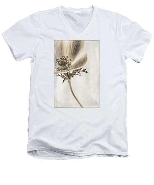 Men's V-Neck T-Shirt featuring the photograph Faded Memory by Caitlyn  Grasso