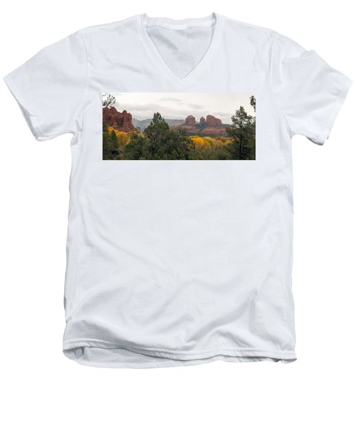 Fall Color Sedona 0495 Men's V-Neck T-Shirt