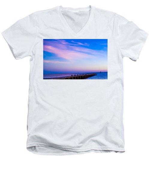 Fantasy Pier Men's V-Neck T-Shirt