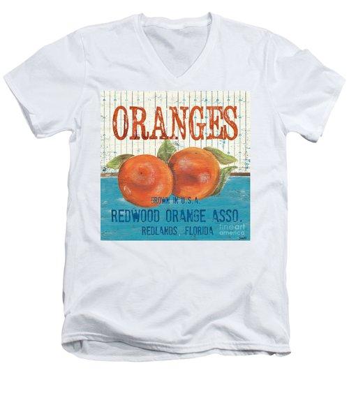 Farm Fresh Fruit 2 Men's V-Neck T-Shirt