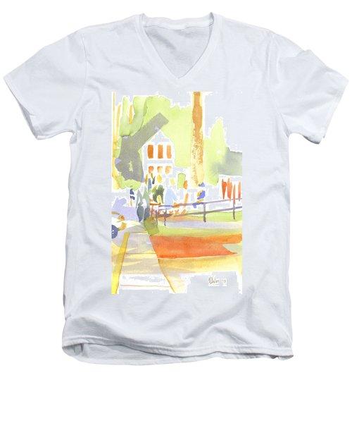 Farmers Market II  Men's V-Neck T-Shirt by Kip DeVore