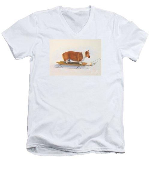 Fear Men's V-Neck T-Shirt