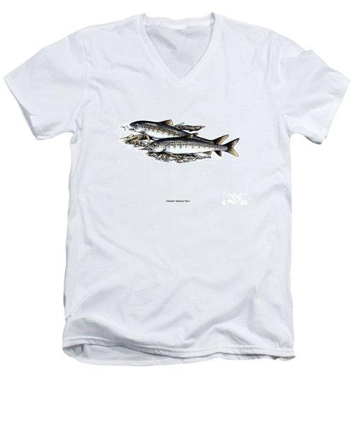 Feeding Parr Men's V-Neck T-Shirt