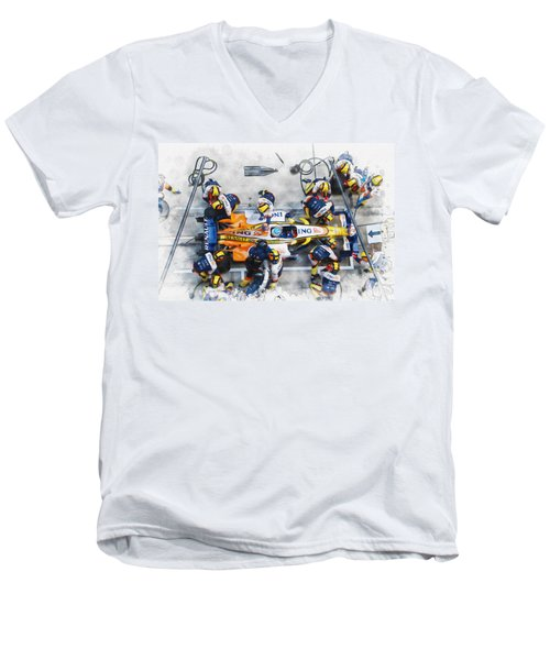 Fernando Alonso Men's V-Neck T-Shirt