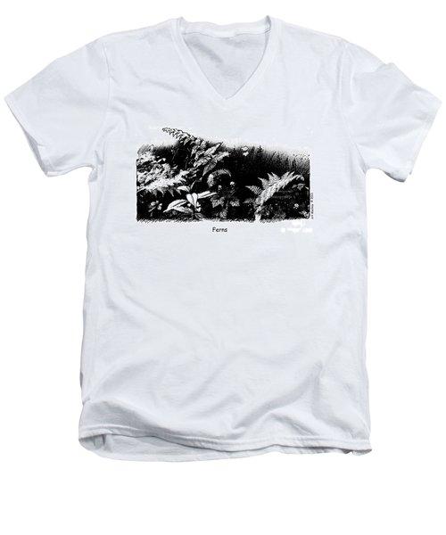 Ferns Men's V-Neck T-Shirt