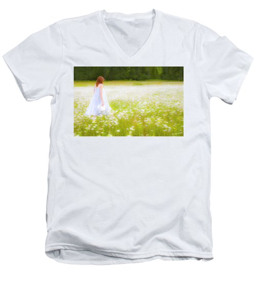 Field Of Dreams Men's V-Neck T-Shirt