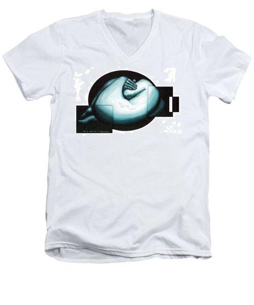 Figure Untitled No.6 Men's V-Neck T-Shirt