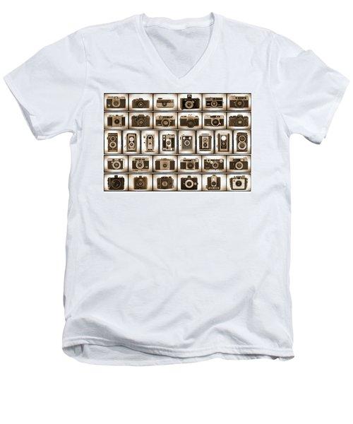 Film Camera Proofs Men's V-Neck T-Shirt