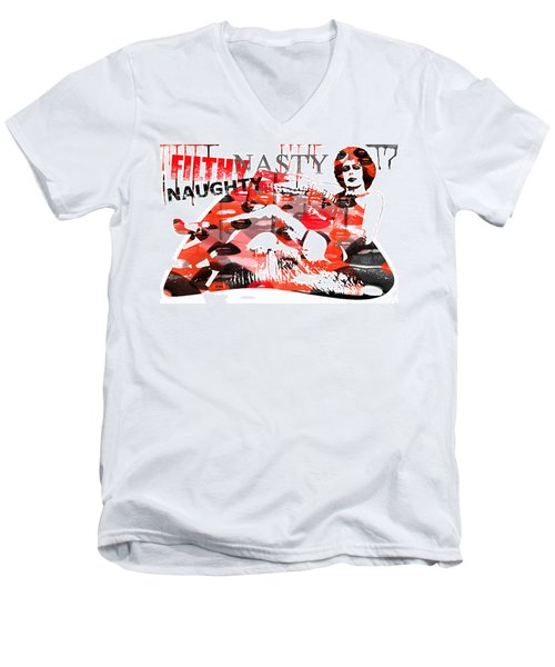Filthy Nasty Naughty Men's V-Neck T-Shirt