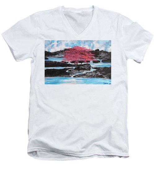 Finding Beauty In Solitude Men's V-Neck T-Shirt