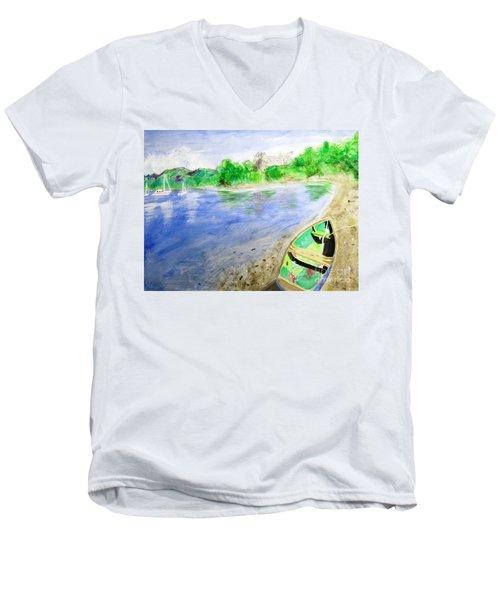 Dunstaffnage Men's V-Neck T-Shirt
