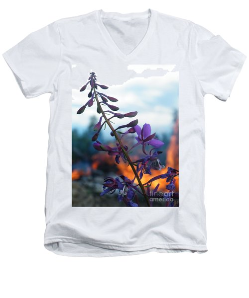 Fireweed Number Five Men's V-Neck T-Shirt