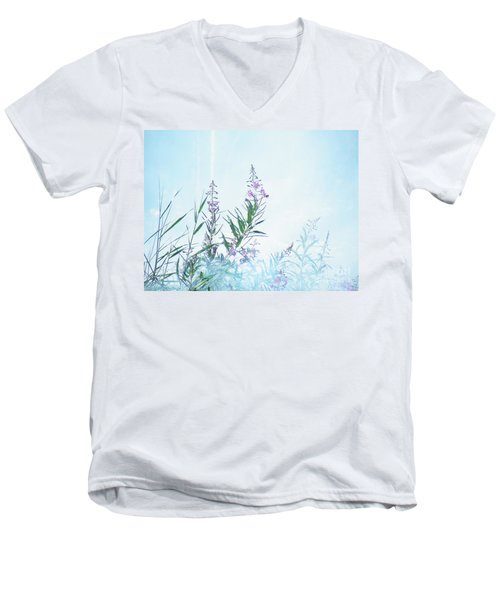 Fireweed Number Two Men's V-Neck T-Shirt