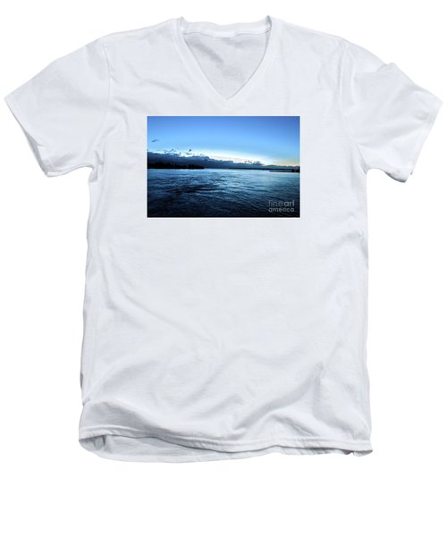 First Ferry Home Men's V-Neck T-Shirt