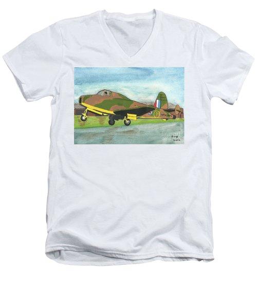 Firstflight Men's V-Neck T-Shirt by John Williams