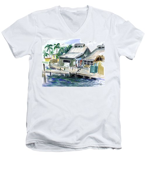 Fish House Men's V-Neck T-Shirt
