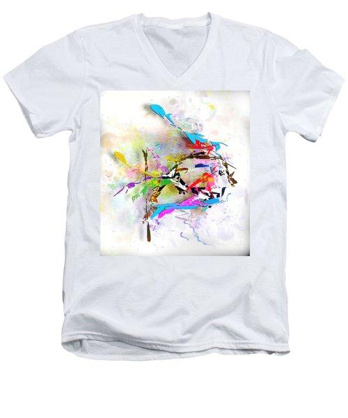 fish XXIV - marucii Men's V-Neck T-Shirt