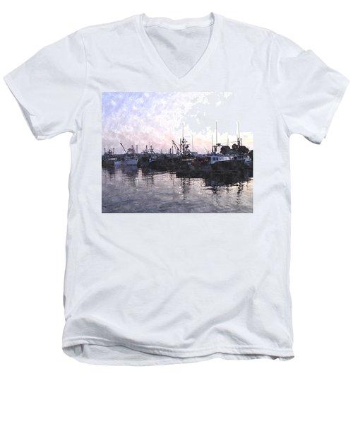 Fishing Fleet Ffwc Men's V-Neck T-Shirt