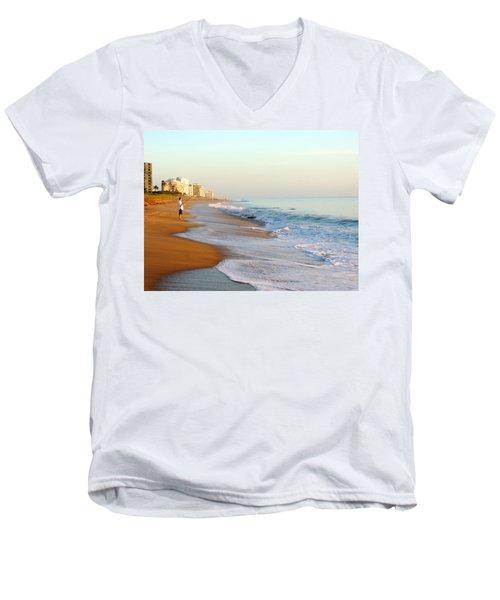 Fishing The Atlantic Men's V-Neck T-Shirt
