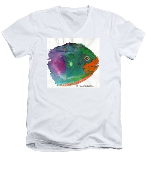 Fishy Men's V-Neck T-Shirt