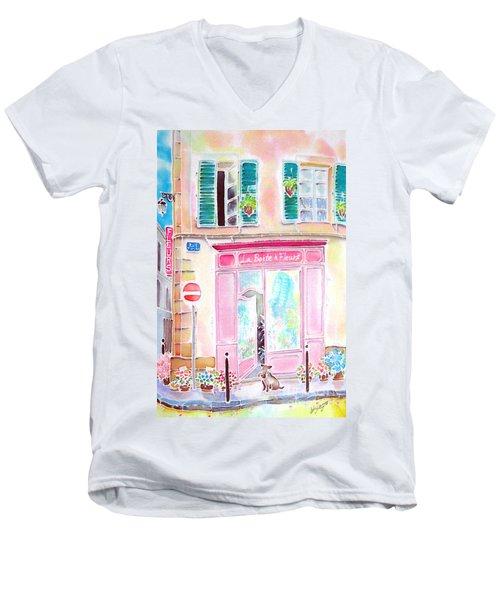 Fleuriste Men's V-Neck T-Shirt