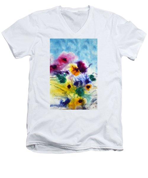 Fleurs Men's V-Neck T-Shirt