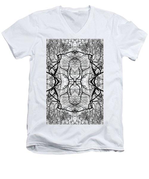 Tree No. 5 Men's V-Neck T-Shirt