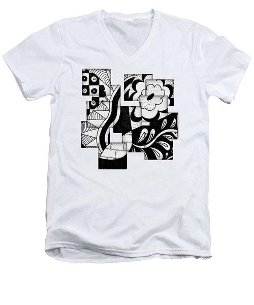 Floral And More Men's V-Neck T-Shirt