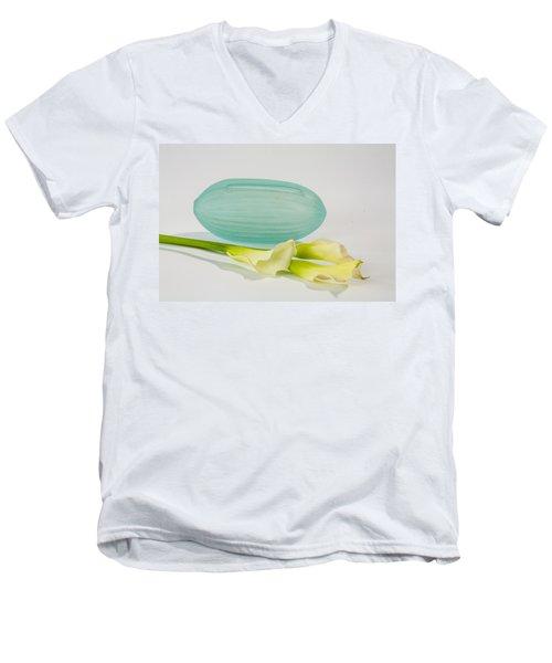 Flowers In Vases 4 Men's V-Neck T-Shirt