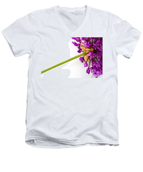 Flower At Rest Men's V-Neck T-Shirt