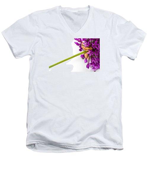 Flower At Rest Men's V-Neck T-Shirt