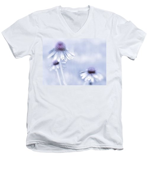 Flower Trio  Men's V-Neck T-Shirt