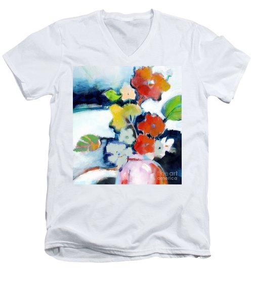 Flower Vase No.1 Men's V-Neck T-Shirt