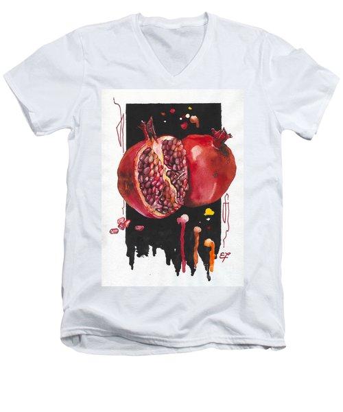 Fluidity 8 - Elena Yakubovich Men's V-Neck T-Shirt