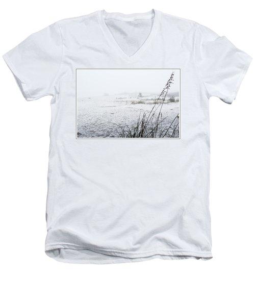 Foggy Beach Men's V-Neck T-Shirt
