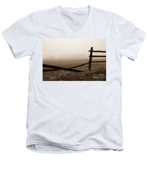 Foggy Pasture Men's V-Neck T-Shirt