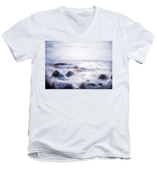 For Jim Haley Men's V-Neck T-Shirt