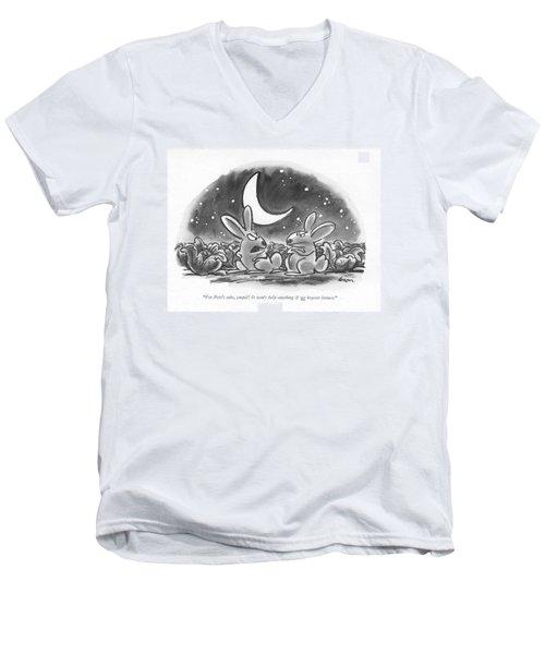 For Pete's Sake Men's V-Neck T-Shirt