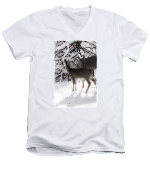 For The Love Men's V-Neck T-Shirt