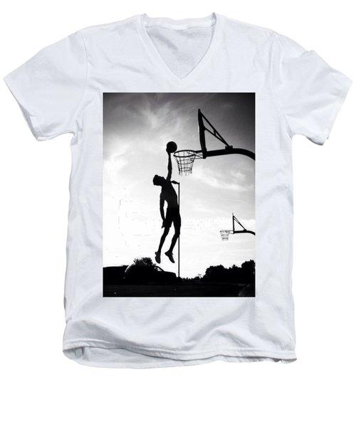 For The Love Of Basketball  Men's V-Neck T-Shirt