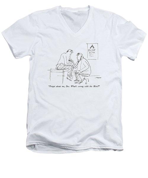 Forget Men's V-Neck T-Shirt
