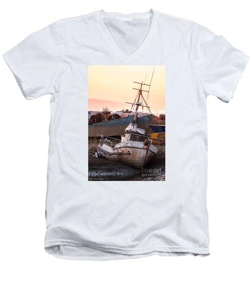 Forgotten In Homer Men's V-Neck T-Shirt
