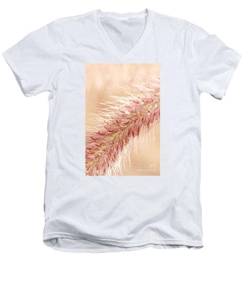 Fountain Grass Blooms   Men's V-Neck T-Shirt