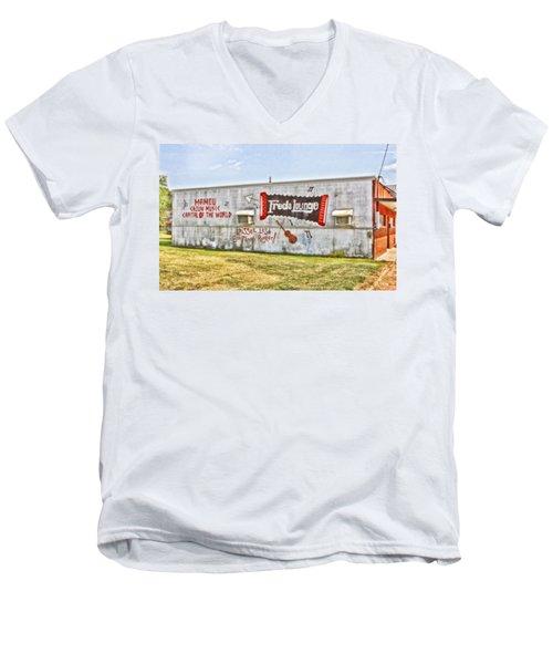 Fred's Lounge Men's V-Neck T-Shirt